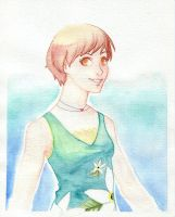 Chie watercolor by life-take