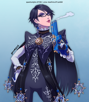 Commission: Bayonetta by QuantumJinx