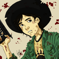 Carl TWD: Daily Sketch Challenge by CrystallineColey