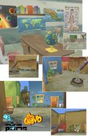El Chavo 3D Locations 3 by MarioPons