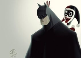 Photobombing the Batman 2 by PapaNinja