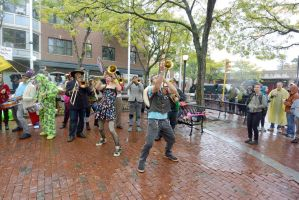 2014 Honk Festival, Music In the Square 19 by Miss-Tbones