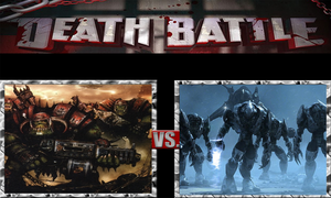 Orks vs. Covenant by ScarecrowsMainFan