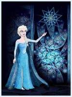 Elsa - Frozen Fractals by Loony-Lucy
