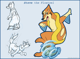 Floatzel Steve by Arcticwaters