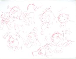 MLP:FIM sketches1 .::Broken Heart::. by SakiCakes