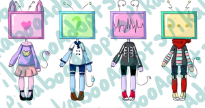 Adopt Batch #10 Tv Heads {{CLOSED}} by PikabooAdopts
