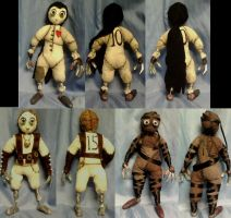 10, 15, 12 dolls by Lily-pily