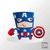 Avenger Movie - Captain America by DanielMead