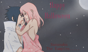 Saususaku Happpy Halloween by LiriHeart