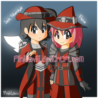 Wizard101 - Red and Black! by PinkLovii