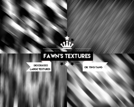 Large Texture Pack #4: Yin Yang by fawngeneva