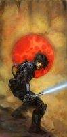 Luke Skywalker by TereseNielsen
