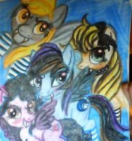 vampire ponies by mistresscarrie