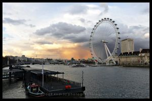 An Eye on London by 4ndr3z