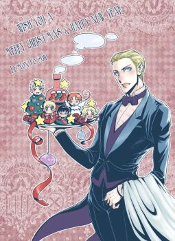 Merry X'mas with German Butler Ludwig by LemonPo