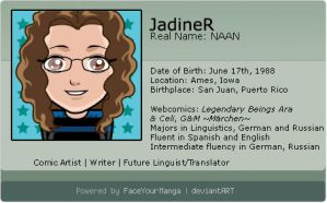 New Deviant ID by JadineR
