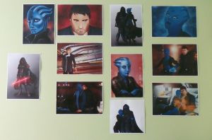 My Wall - Grayson, T'Neira And Thraen by Dahgnear