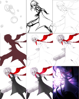 Process of Destroying the Light by Saige199