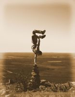 one handed handstand by dkraner