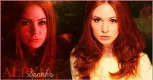 Alexia Sparks with Karen Gillan by KitKat2604