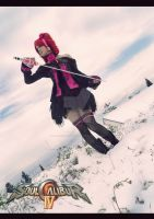 Amy Sorel - Soul Calibur IV cosplay by LauraNikoPhantomhive