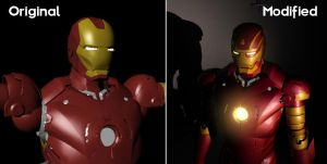 Modified Ironman suit by Evil1991