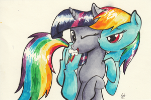 TwiDash Marker Commission by kittyhawk-contrail