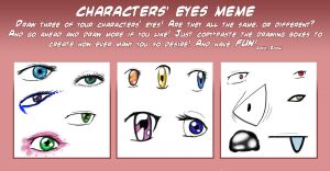 eye meme by 1amm1
