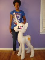 Giant Princess Celestia (50 inches) WIP #1 by PantherPawCreations