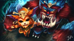 Gnar Fan Art by MidgarCforlet