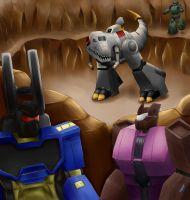 Grimlock in Command. by 1ForSorrow2ForJoy