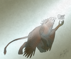 A gryphon's light by SunStateGalleries