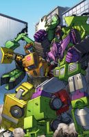 Landfill v Devastator by Dan-the-artguy