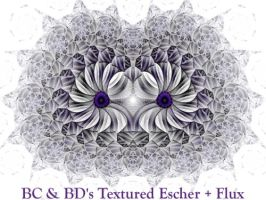 BC n BDs Textured Escher Flux by Fractal-Resources