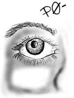 PaintChat Eye Sketch by eanbowman