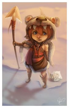 Little Hunter by Curly-Artist