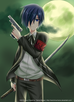 Persona 3: Minato Arisato and The Dark Hour by NekoHimeChama