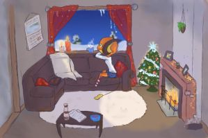 It's beginning to look a lot like Christmas by Elen93