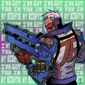 Soldier 76 by equalizer100