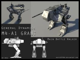 M4-A1 Grant Battle Walker by Davis--237834