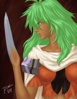 Xenogears: Bladehand by Autumnflame