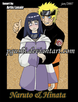 Naruto and Hinata by pgushi