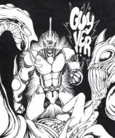 Good Ole Guyver by MonsterInk