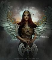 Warrior Angel by marcosnogueiracb