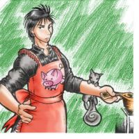 Luca in the Kitchen: Suiko_RPG by Spambi