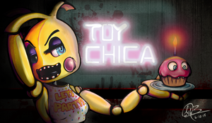 TOY CHICA by Color-Gal