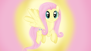 Fluttershy [Wallpaper] by Sutekh94