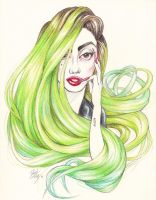 I need a Green detox - Gaga Limelight UVglo by DibuMadHatter
