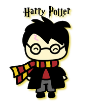 Harry Potter by kiddomerriweather